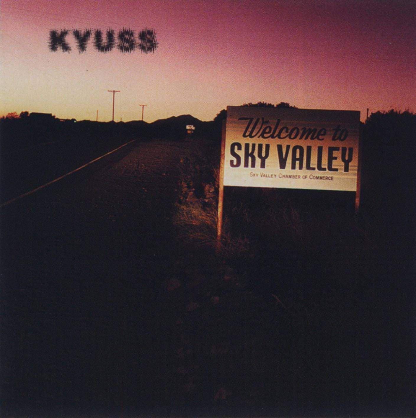 Kyuss Welcome To Sky Valley 1994 Stoner Rock Vinili E Copertina