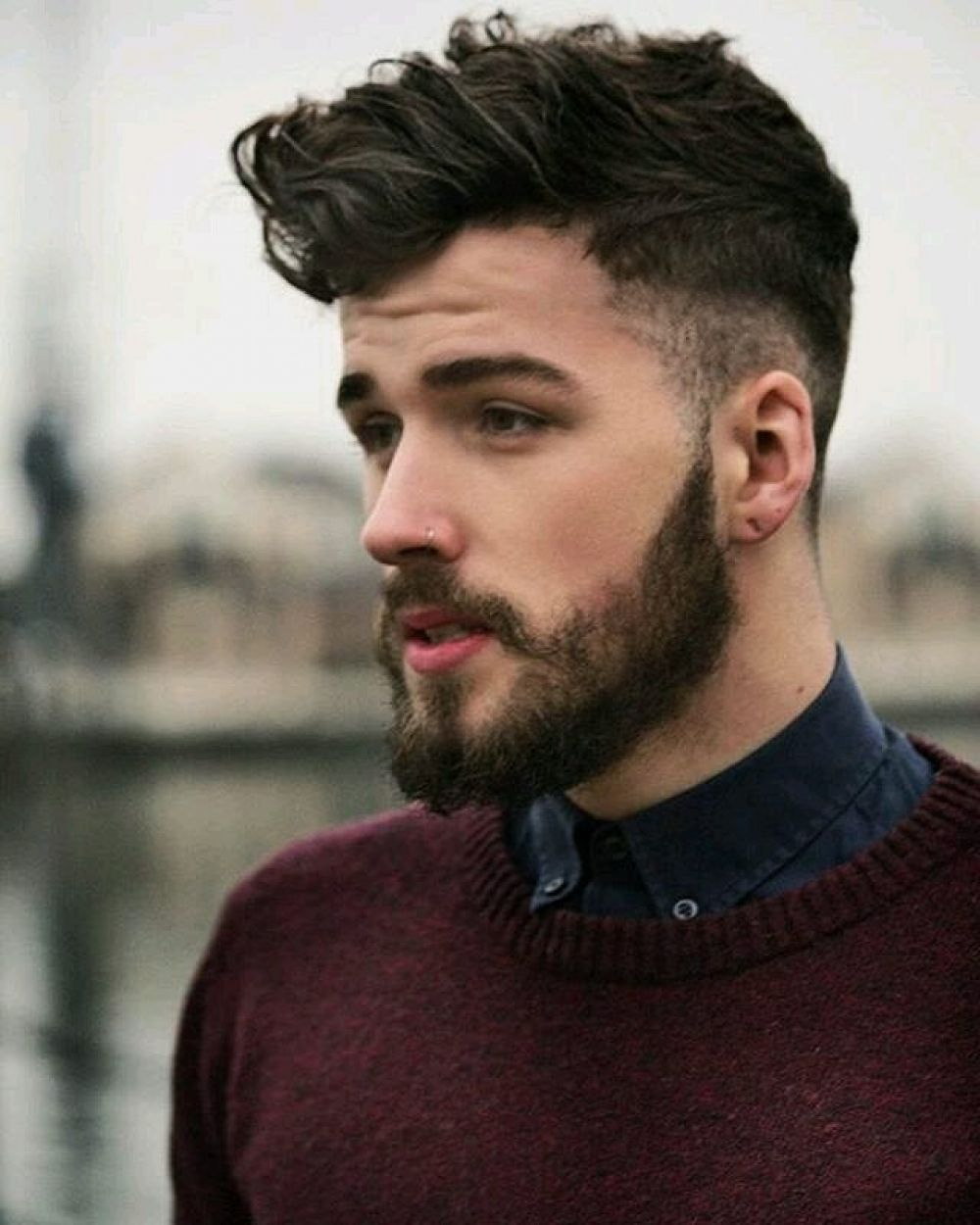 that`s just superb! #hipster #fashion | leather | hair styles, hair