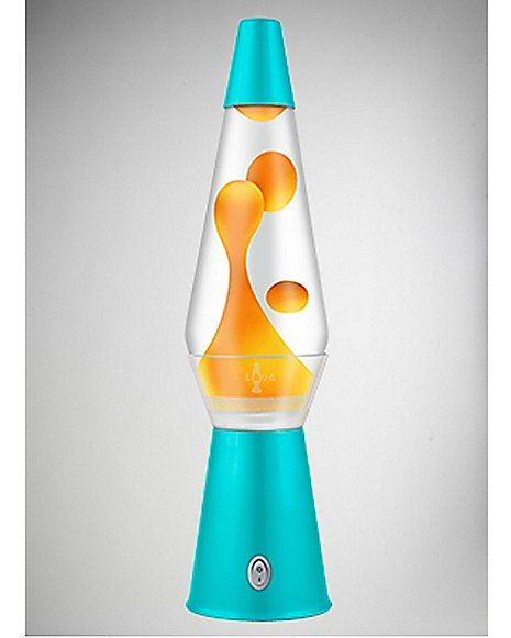 17 Clearview Turquoise Lava Lamp With Neon Orange Lava Spencer S Lava Lamp Lamp Cool Lava Lamps