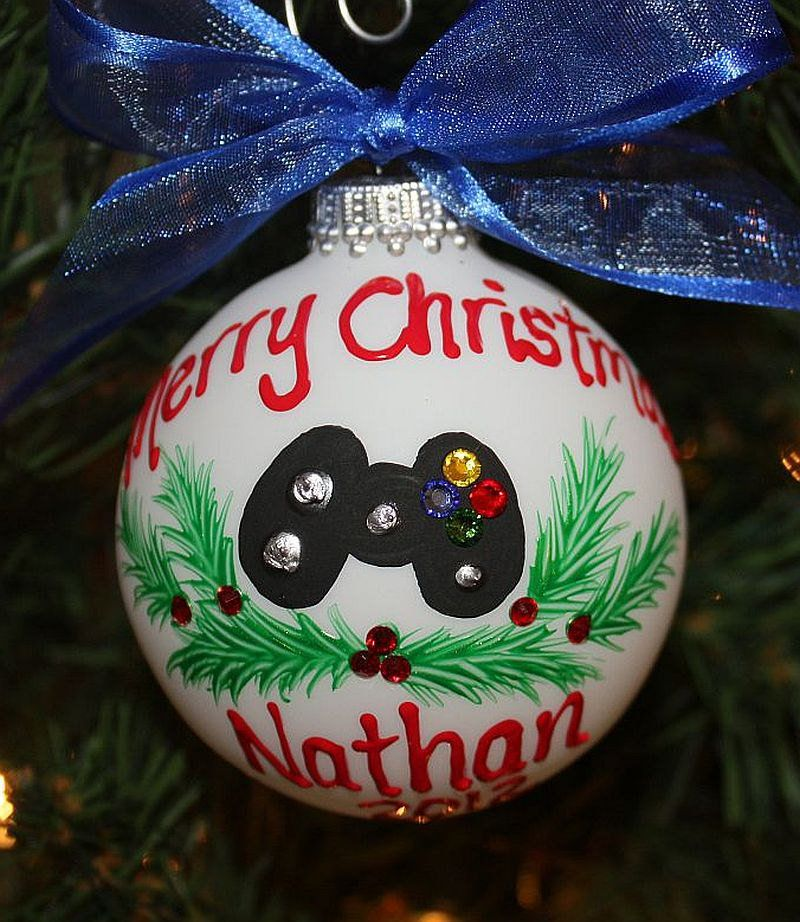 Game Controller Ornament Xbox Ornament Personalized Etsy In 2020 Personalized Ornaments Custom Ornament Ornaments