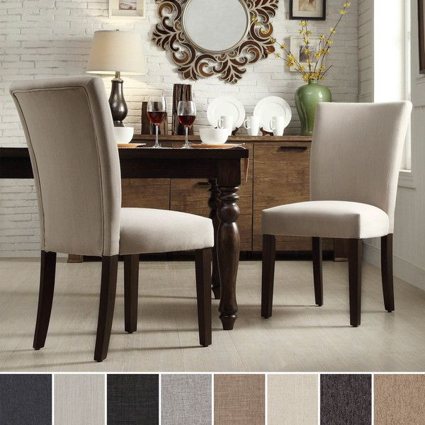 Best Deals On Dining Table And Chairs: INSPIRE Q Catherine Parsons Dining Side Chair (Set Of 2