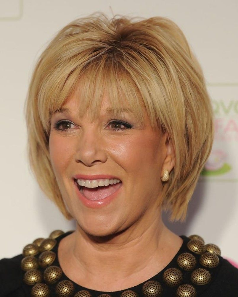 Medium hairstyles for women over short hairstyle bangs and shorts