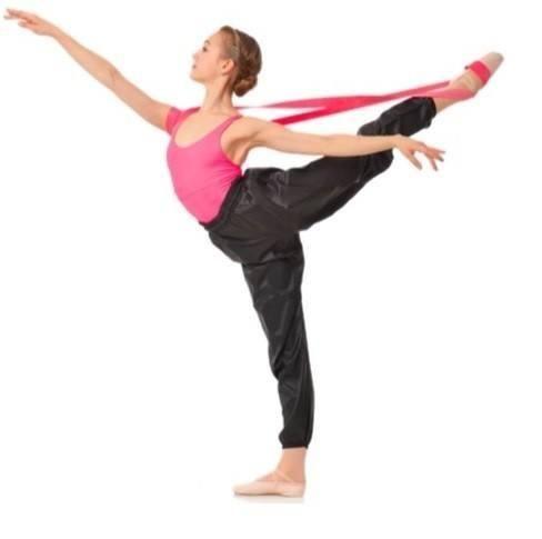 gaynor minden flexibility band  dance stretches