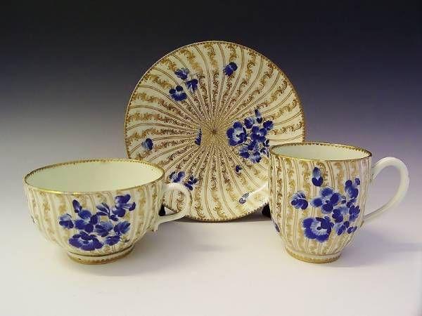 Worcester trio c.1770 | Teacup Crazy | Pinterest | Worcester, Teas ...
