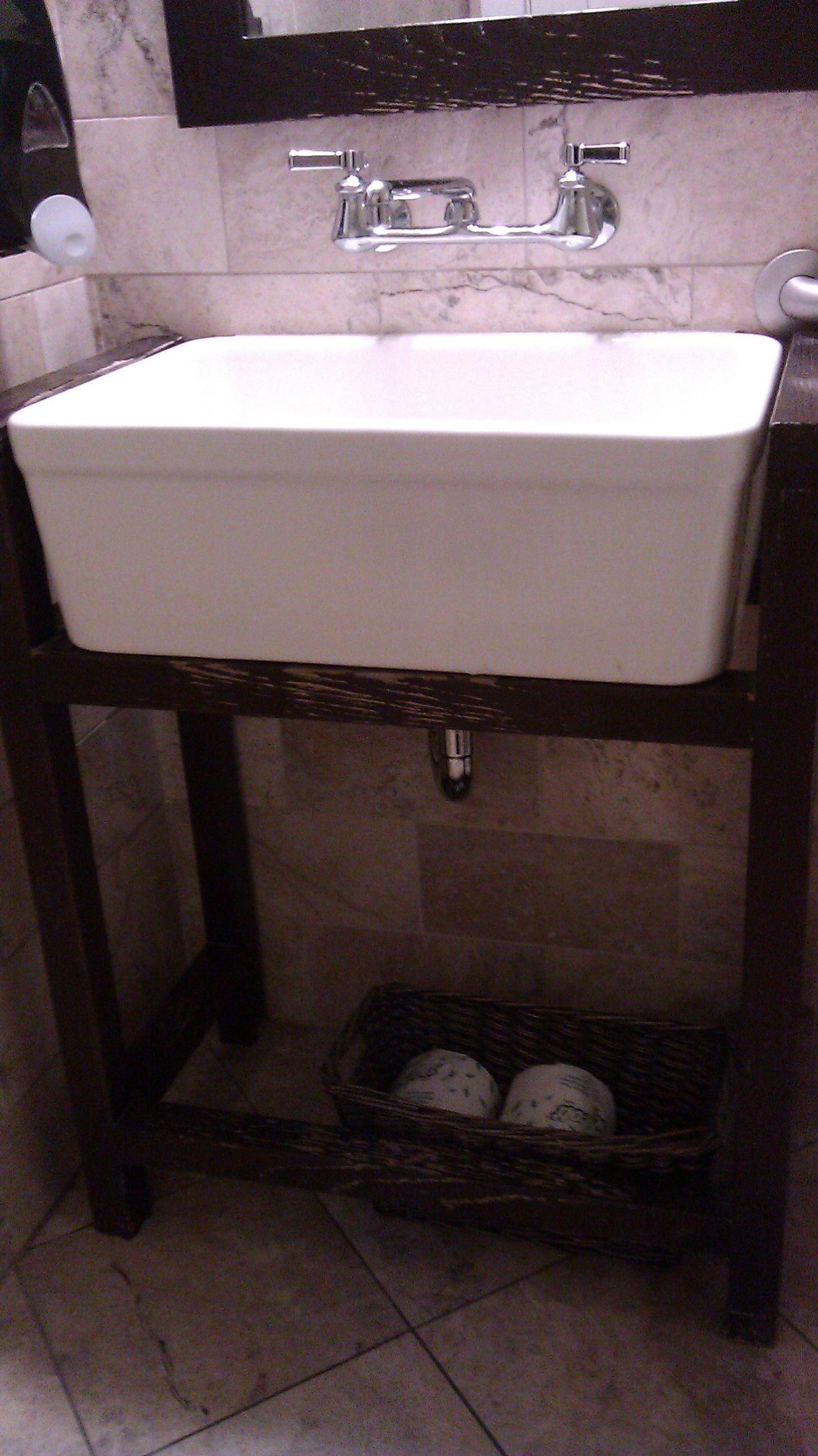 Deep Bathroom Sink With Open Stand At Noah S In Pleasant Grove Sink Bathroom Sink Bathroom Vanity