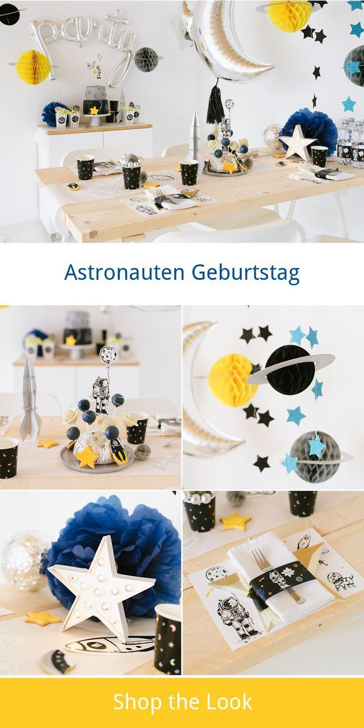 Beam me up! Astronauten und Weltraum Kindergeburtstag - Fräulein K. Sagt Ja