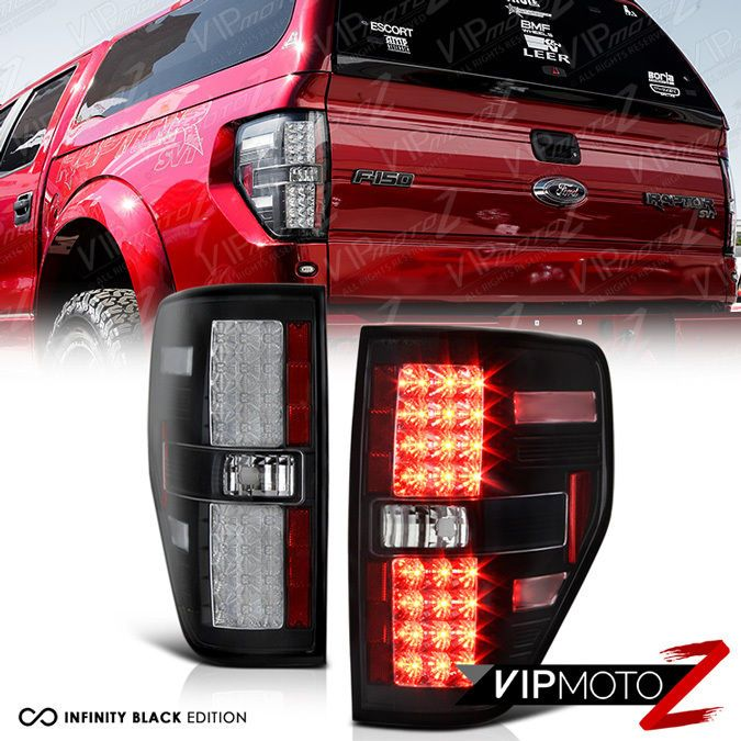 Details About For 09 14 Ford F150 Raptor Style Black Led Neon