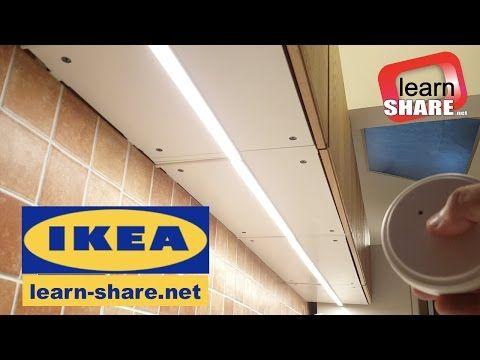 Ikea kitchen lighting omlopp how to install countertop led light youtube
