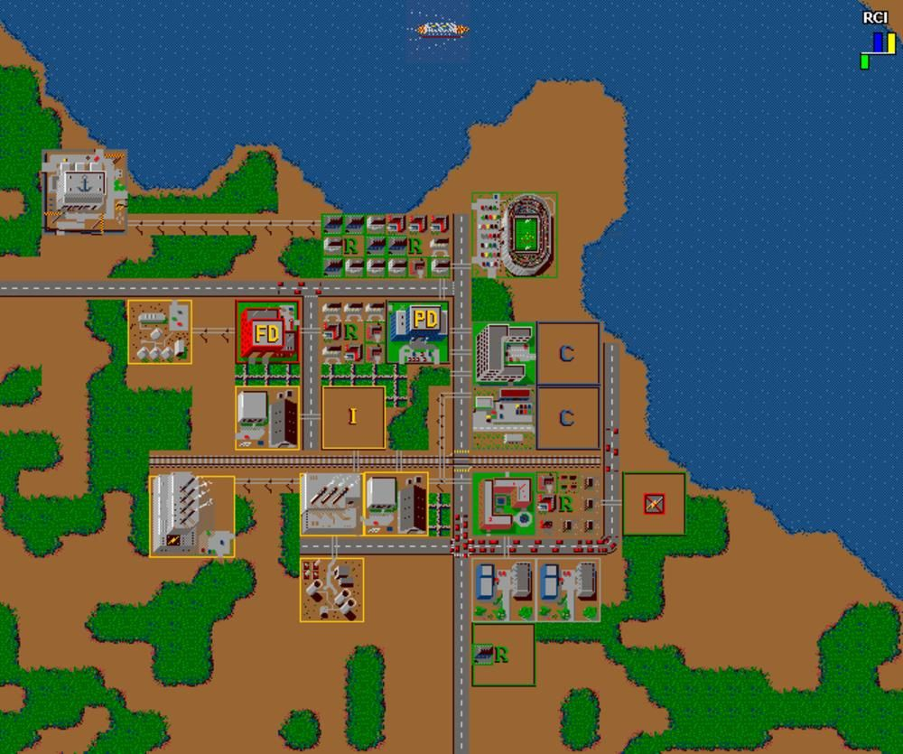 One of my first computer games, Sim City! I was such a