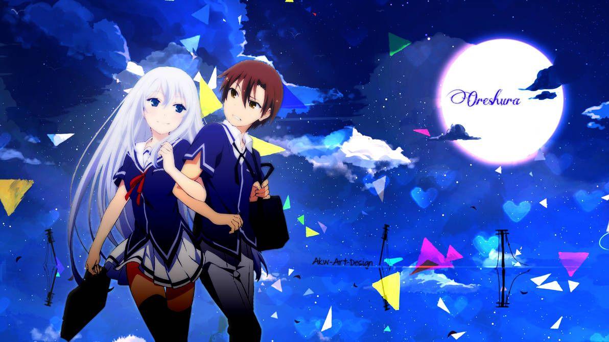 Oreshura Eita Kidou X Masuzu Natsukawa By Https Www Deviantart Com Akw Art Design On Deviantart Art Design Art Anime Art