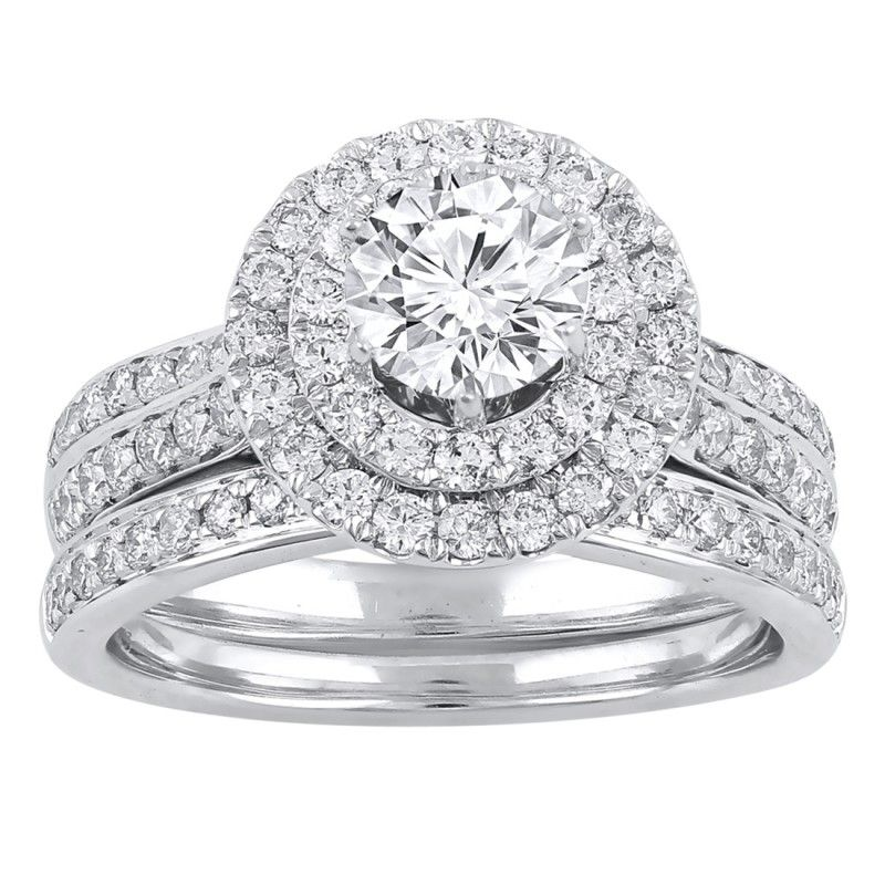 Love by Michelle Beville 18ct White Gold 1.07ct of Diamond Solitaire Ring. Available in stores or online - 9B42000