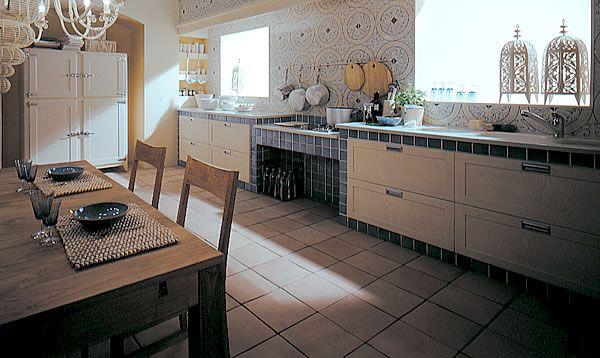 cucine in muratura con tendine, http://www.asavellino.net/cucine ...
