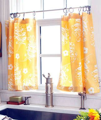Kitchen Cafe Curtains Design Ideas Images Modern Windows Panels Are A Popular Style It Is Not Only Use For