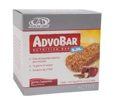 """AdvoBar® a.m. Apple Cinnamon provides balanced nutrition and a great taste. >> Is this you? Someone who has a busy lifestyle and tight schedule, and needs a quick snack or meal Someone looking for a quick, nutritious meal in the morning without the hassle of preparation time Someone who travels frequently or is """"on the go"""" and cannot easily predict mealtimes?"""