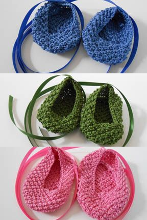 Baby Ballet Slippers Free Pattern From Tahki Stacy Charles Knit On