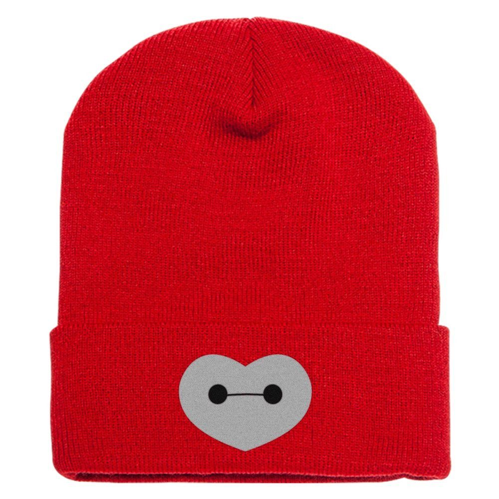 0defd1d11fa43 Big Hero 6 - Baymax Shaped Heart Knit Cap