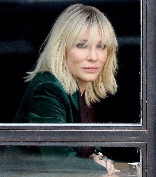 Image Result For Cate Blanchett Hair Oceans 8 Hair Pinterest