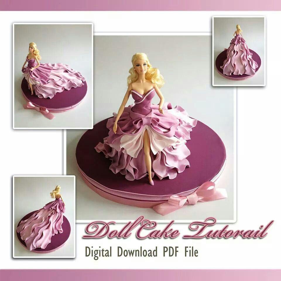 Gorgeous doll cake