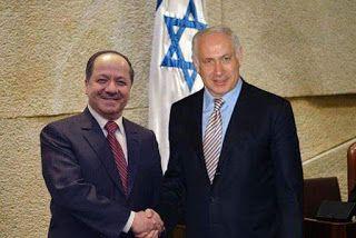 نتيجة بحث الصور عن مسعود البارزاني واسرائيل