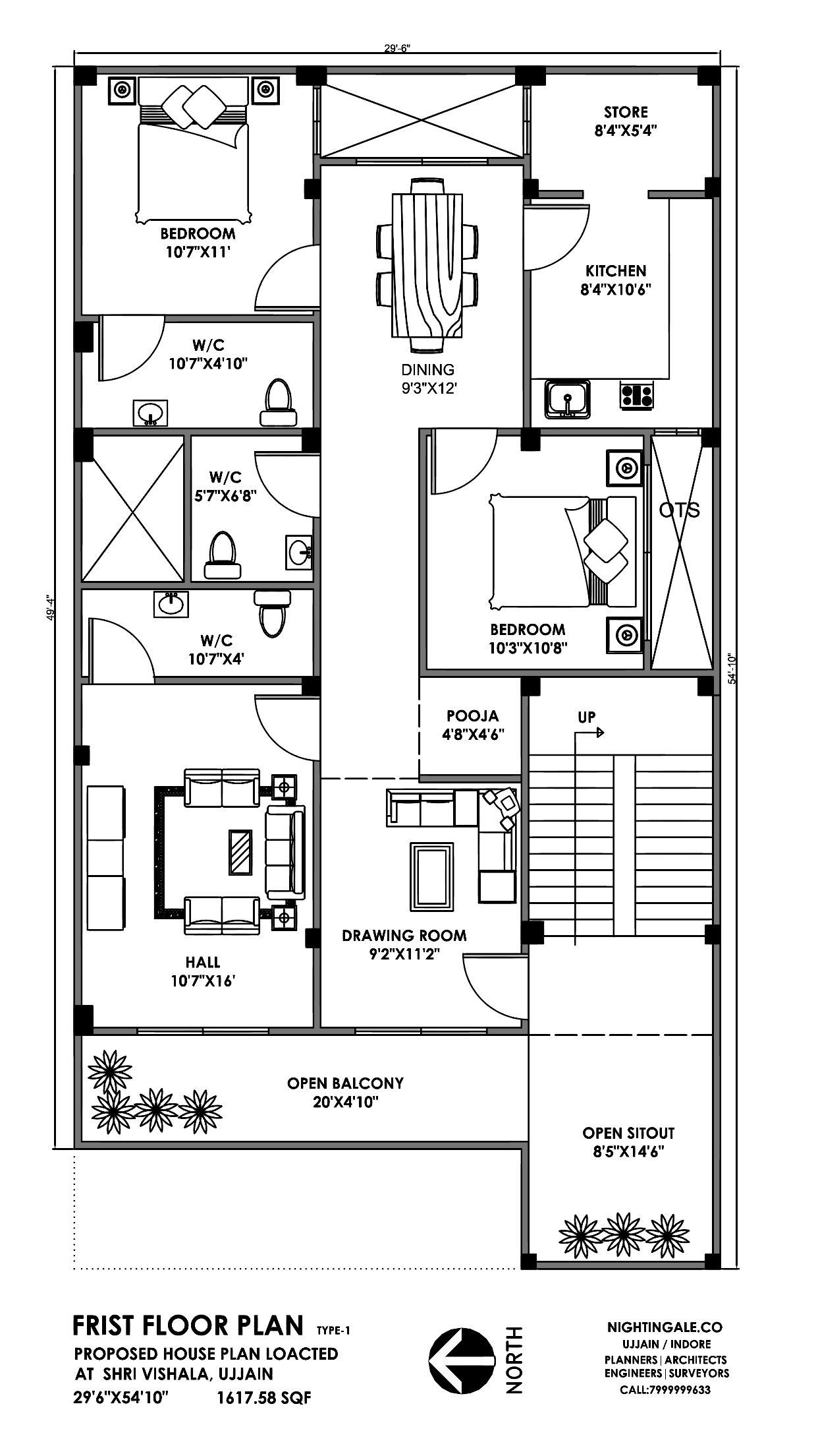 30x50 3bhk House Plan 1500sqft 40x60 Plans Layout My