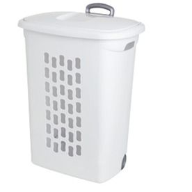 Lowes Laundry Baskets Sterilite Corporation 2Bushel Clothes Hamper 16 Lowes  Laundry