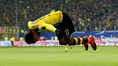 Four Goals As Aubameyang Return To Dortmund Team     Pierre-Emerick Aubameyang marked his return to the Borussia Dortmund side with four goals as they cruised to a 5-2 win at strugglers Hamburg. Aubameyang had been dropped for Wednesday's Champions League win over Sporting Lisbon for internal reasonsand celebrated his recall on Saturday with a 23-minute first-half hat-trick before adding a fourth three minutes after the interval.Ousmane Dembele added a fifth for Dortmund while Nicolai Muller bagged a brace for Hamburg who are bottom on goal difference from FC Ingolstadt 04 who lost 2-0 at home to FC Augsburg.Dortmund coach Thomas Tuchel said There had been something going on during the preparation for the Sporting match which we punished and so it is checked off. We did not love taking this measure but there was no alternative in our view. The basic trust has not been shattered and it was all forgotten by the final whistle of the Lisbon game.Dortmund's win lifted them to fifth in the table six points behind leaders Bayern Munich who were held to a 1-1 draw at home to high-flying Hoffenheim who remain unbeaten. Sport Sports
