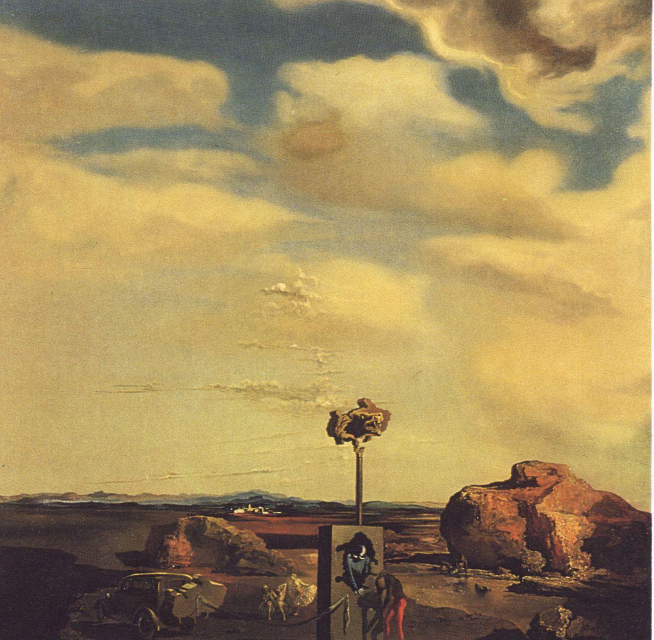 Puzzle of Autumn, 1935, Salvador Dali Salvador dali