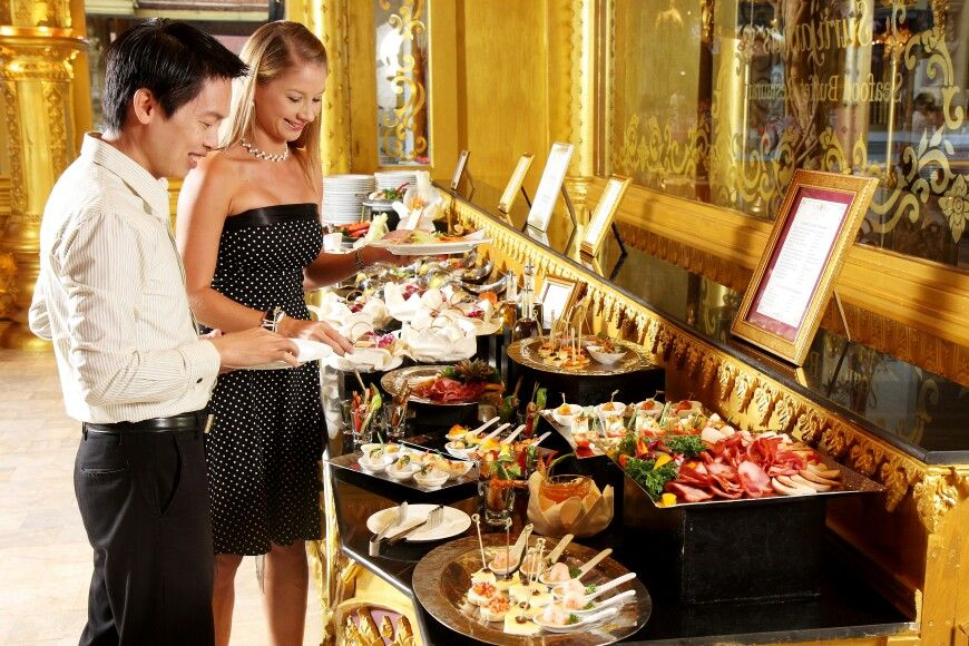 Suriyamas Seafood Buffet Restaurant Et Fantasea International Delicious Family