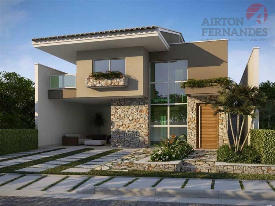 Fotos de fachadas de casas deixe a frente de casa linda for Imagenes de casas
