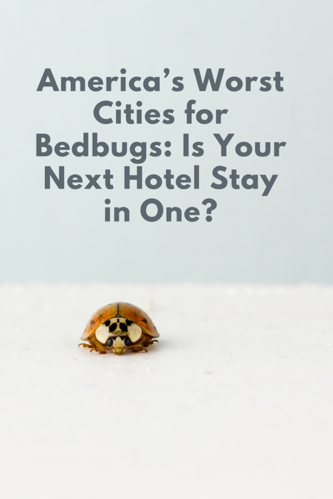 America S Worst Cities For Bedbugs 2018 Is Your Next Hotel In One Bed Bugs Travel Nursing Agencies City