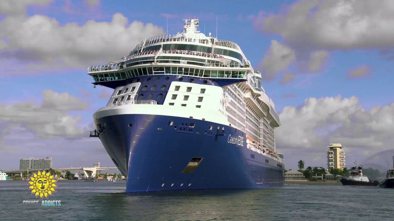 Celebrity Edge Arrives At Her New Home In Port Everglades Everglades Cruise Cruise Vacation