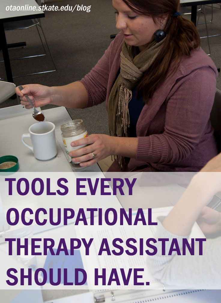 Occupational Therapy Assistants Use Common Household Items To Help