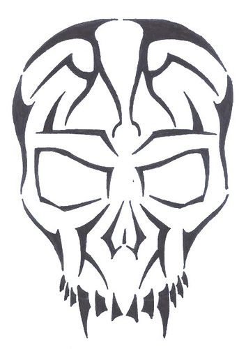 5eb5d0646 Simple Skull Tattoos Designs | Free Download Clip Art | Free Clip Art ..