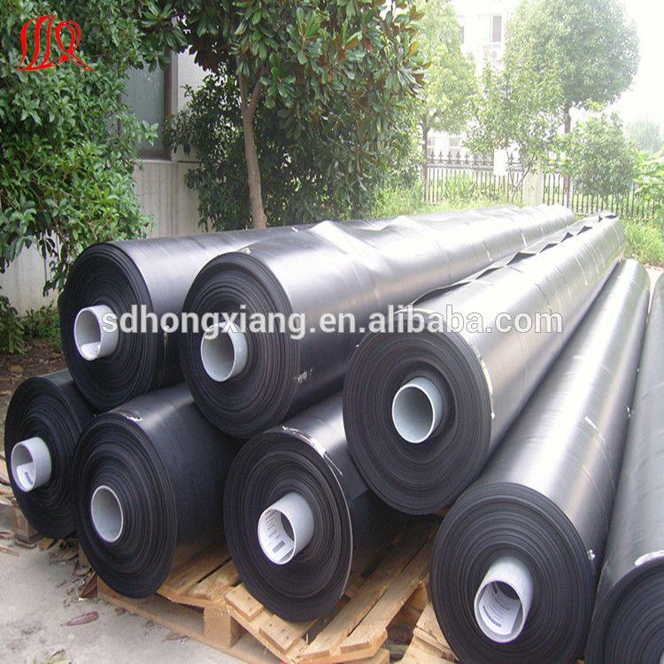 plastic fish farming tank,hdpe black rolls geomembrane