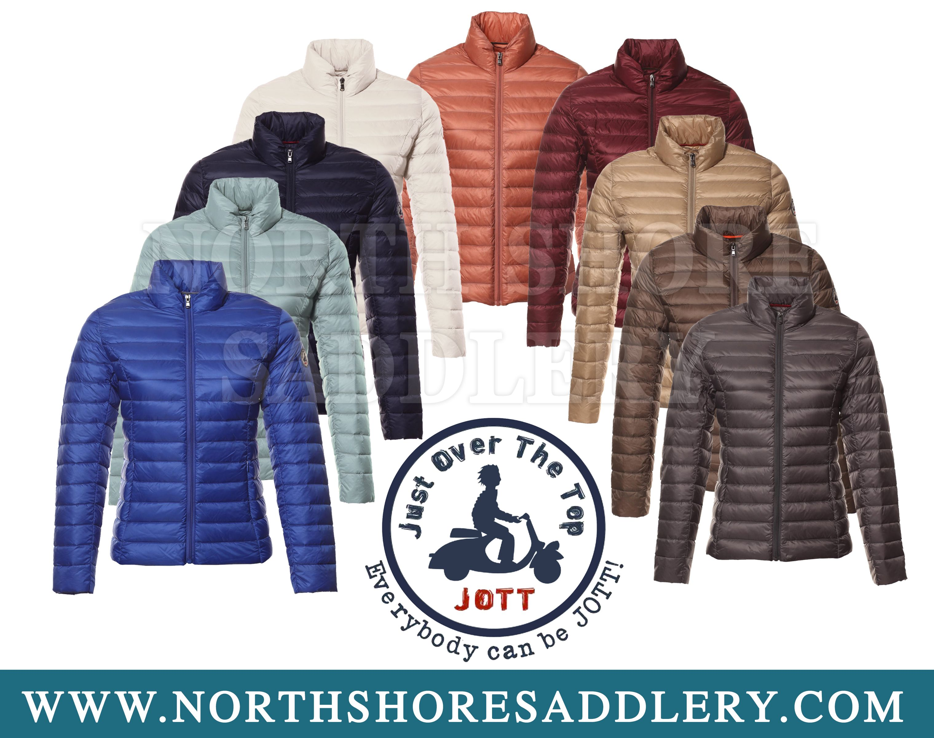JUST IN! The JOTT - Just Over The Top CHA Jackets! The JOTT CHA is ...