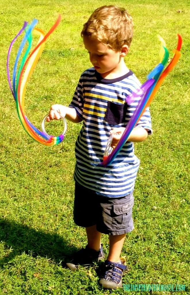 6 Creative Movement Activities For Kids Using Streamers Music And