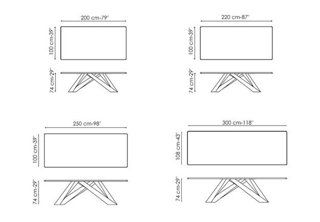 bonaldo-tavolo-big-table-sizes.jpg (625×433) | table | Pinterest