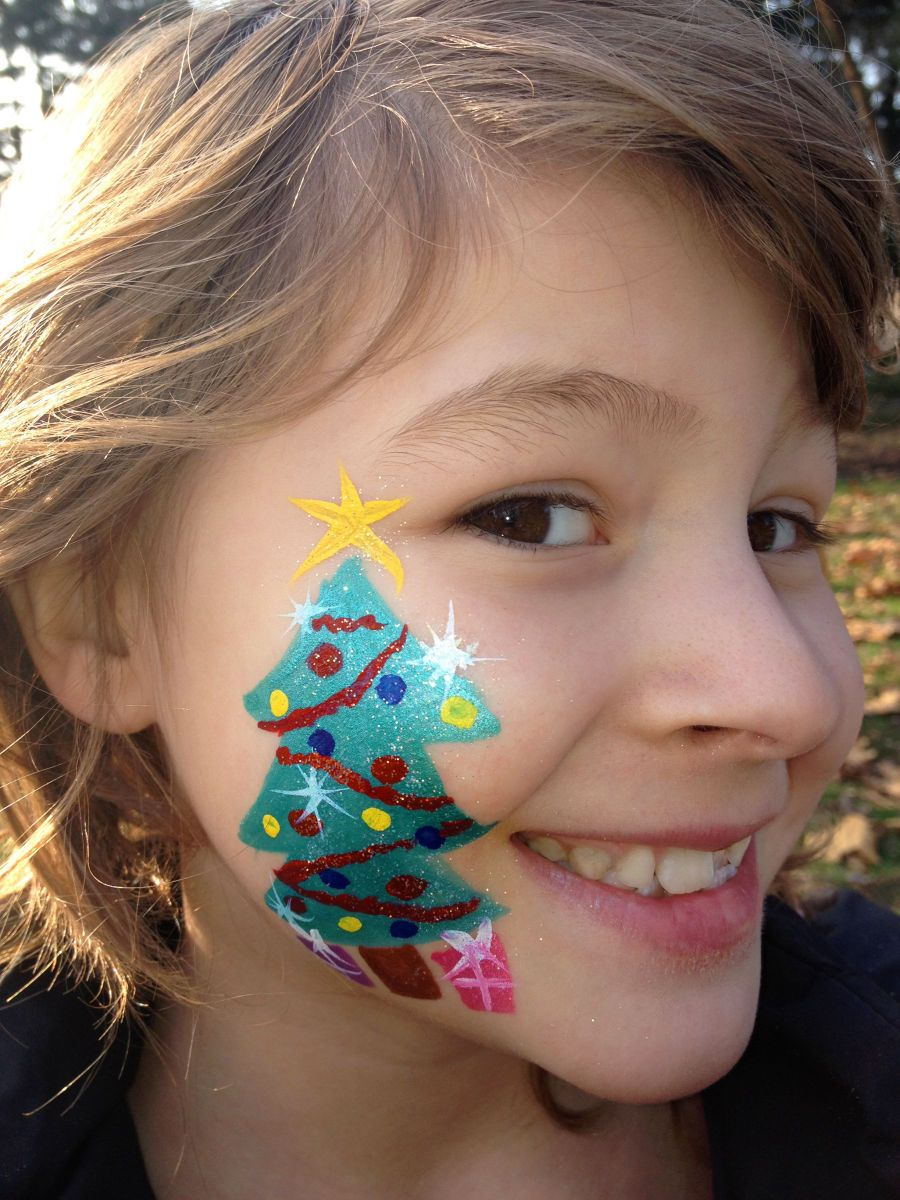 easy face painting designs - HD900×1200