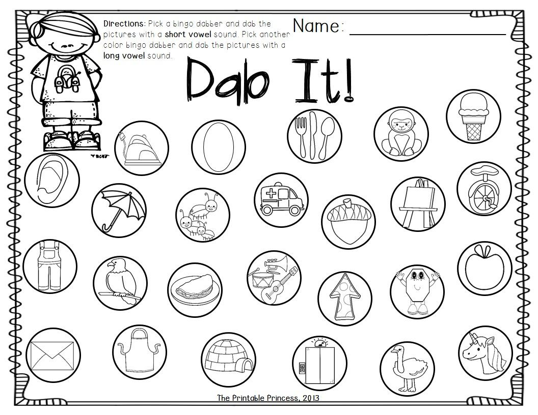 A Dab Of Learning Bingo Dabber Alphabet Number Recognition