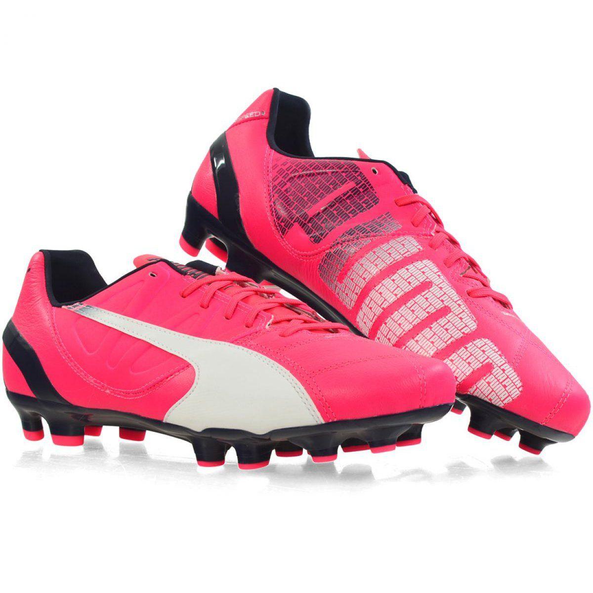 Buty Pilkarskie Puma Evo Speed 3 3 Fg M 103014 03 Rozowe Rozowe Nike Air Max Sneakers Nike Sport Shoes