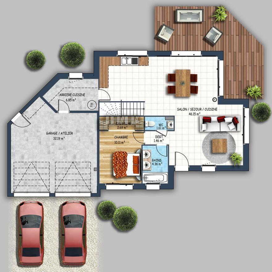 La Maison Contemporaine Economique Confortable