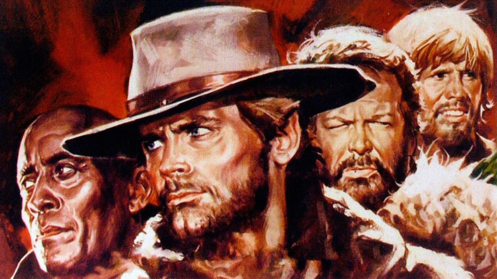 "Filmes Bud Spencer E Terence Hill Dublado regarding boot hill (wallpaper), wallpaper for ""boot hill"". ""boot hill"
