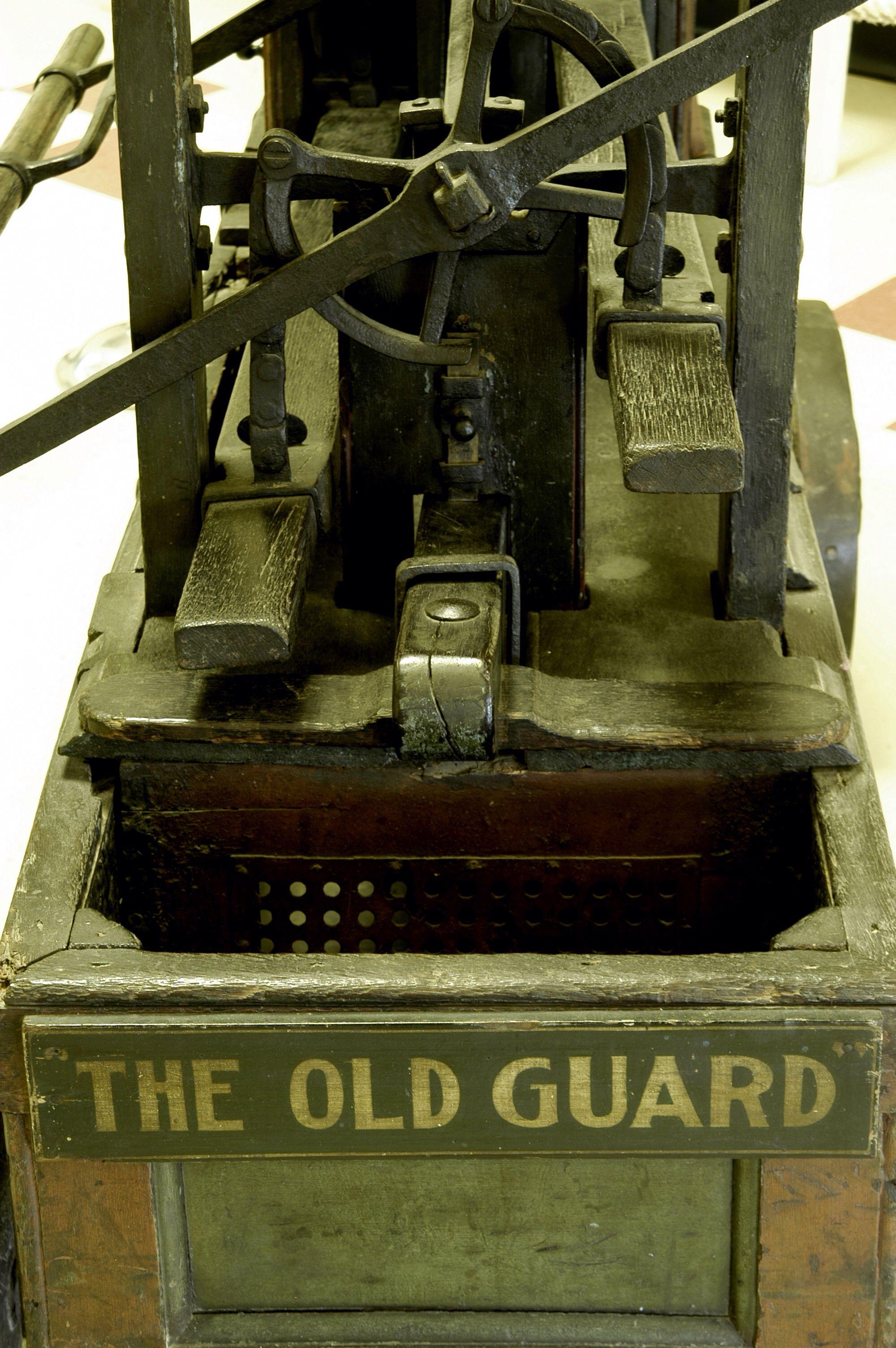 Built in England, this Richard Newsham pumper is the