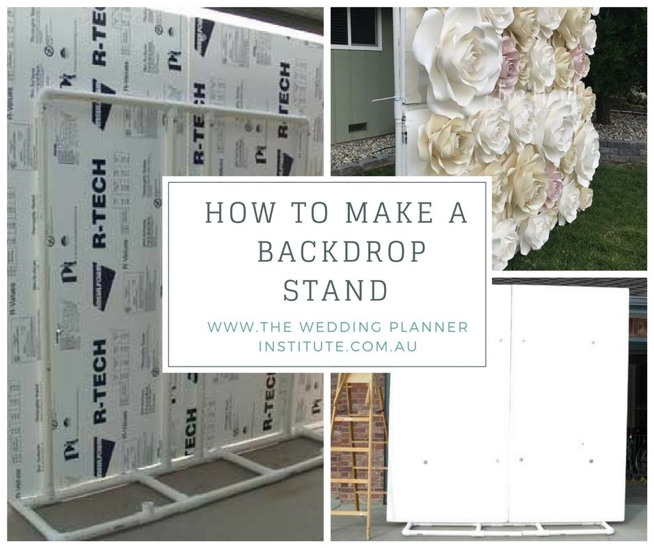How To Make A Flower Wall Backdrop For A Wedding Or Event The Wedding Planner Institute Flower Wall Wedding Wall Backdrops Flower Wall Backdrop