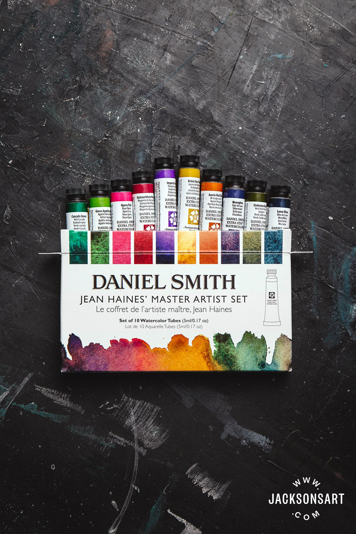 Jean Haines Has Selected A Collection Of Ten Daniel Smith
