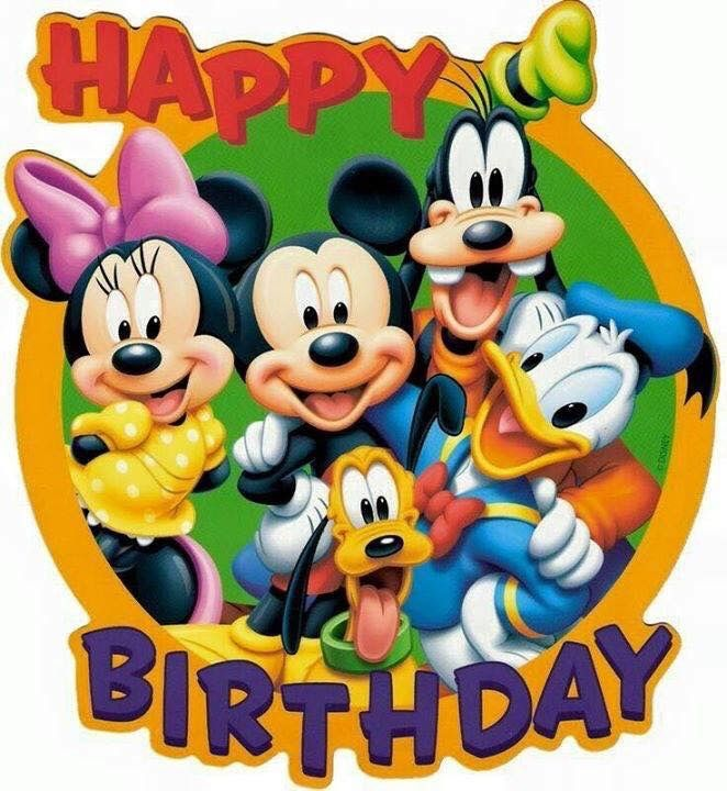 Happy Birthday Khsnu Darling Happy Birthday Disney Happy