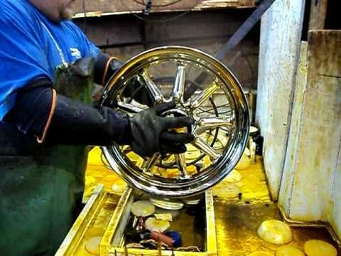 Chrome Plating Process - www gorillachrome com - Plating