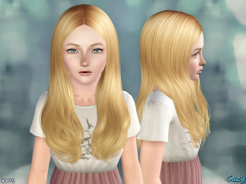 Hairstyle For Female Child Through Elder Found In Tsr Category Sims 3 Downloads Sims 3 Sims Hair Styles