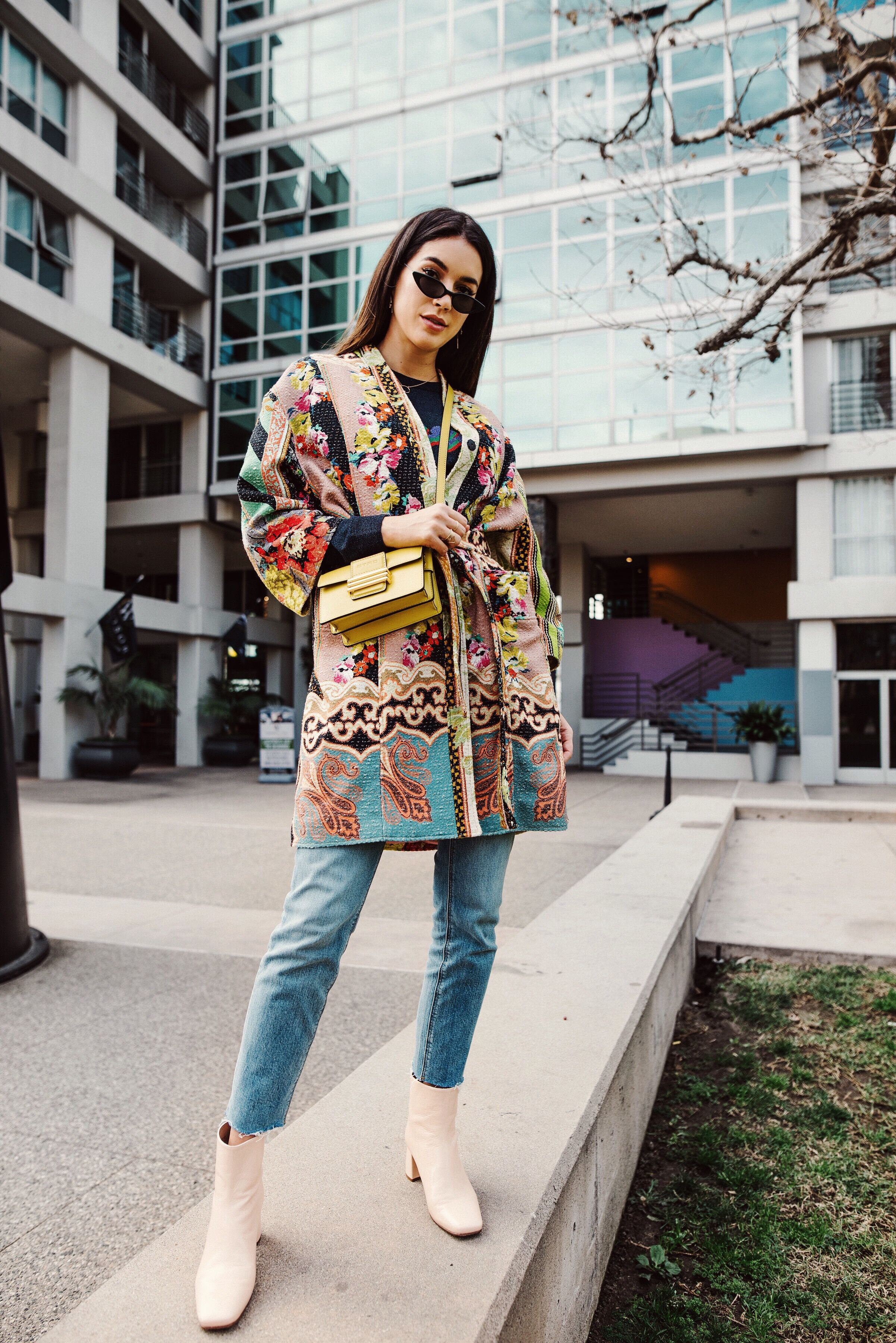 The Colorful Statement Coat   Thrifts and Threads   Fashion