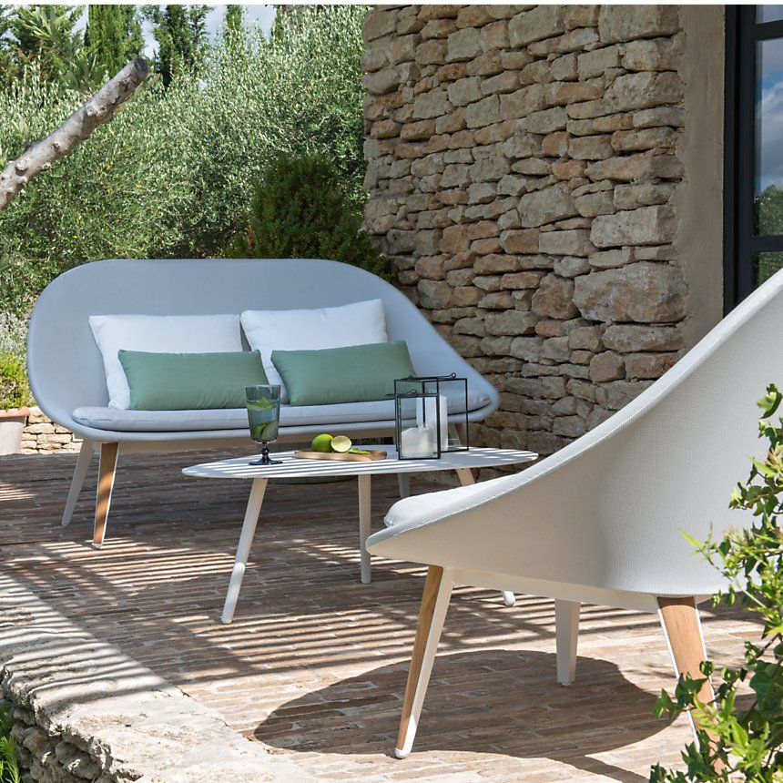 Fauteuil bas Vanity Camif salon de jardin design et tendance ...